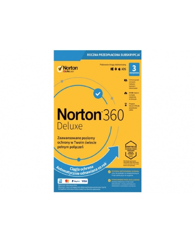 Norton 360 Deluxe 3PC / 1Rok