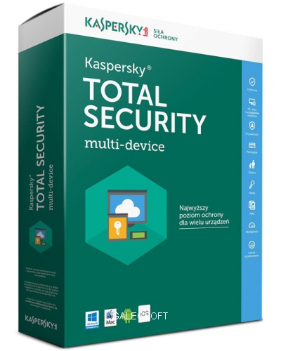 Kaspersky Total Security 2021 - multi-device 2PC kontynuacja ESD PL